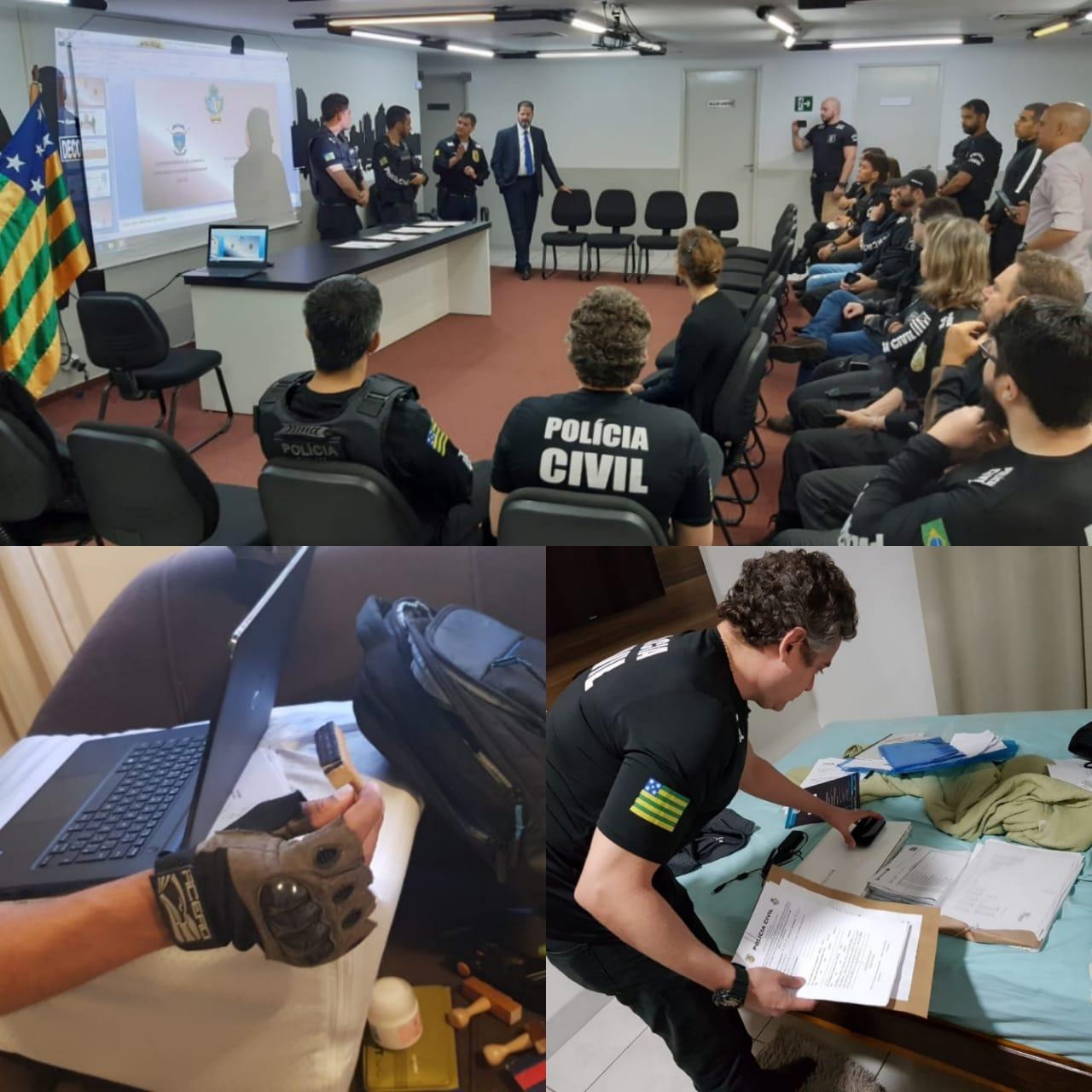 A��o policial apura fraude milion�ria no Ipasgo