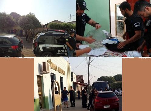Pol�cia Civil prende cinco vereadores de Araguapaz envolvidos em corrup��o