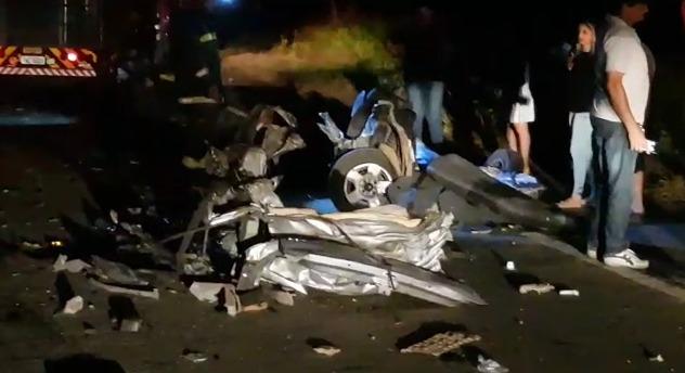 Acidente deixa motorista  mutilado na região de Jaraguá