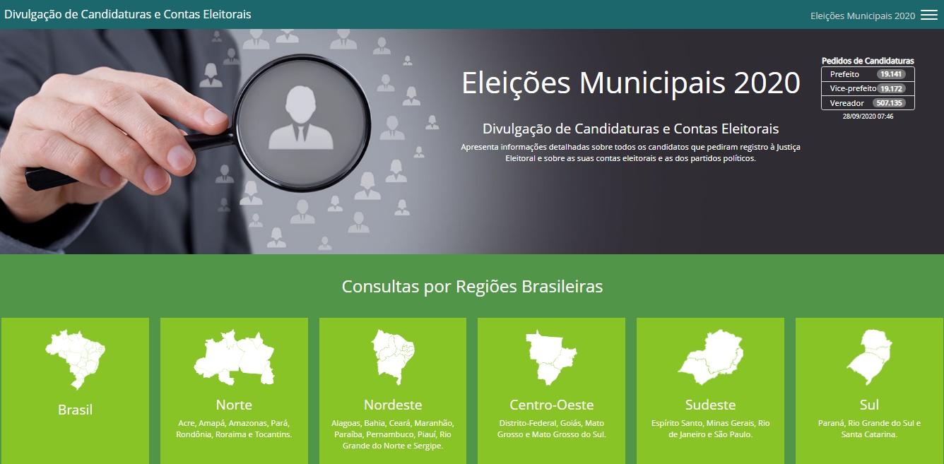 Goi�s tem mais de 24 mil candidatos aos cargos de prefeito, vice e vereador