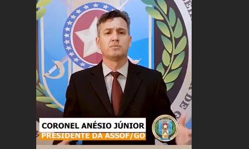 Associações de policiais militares marcam assembleia para esta quarta-feira em Goiânia