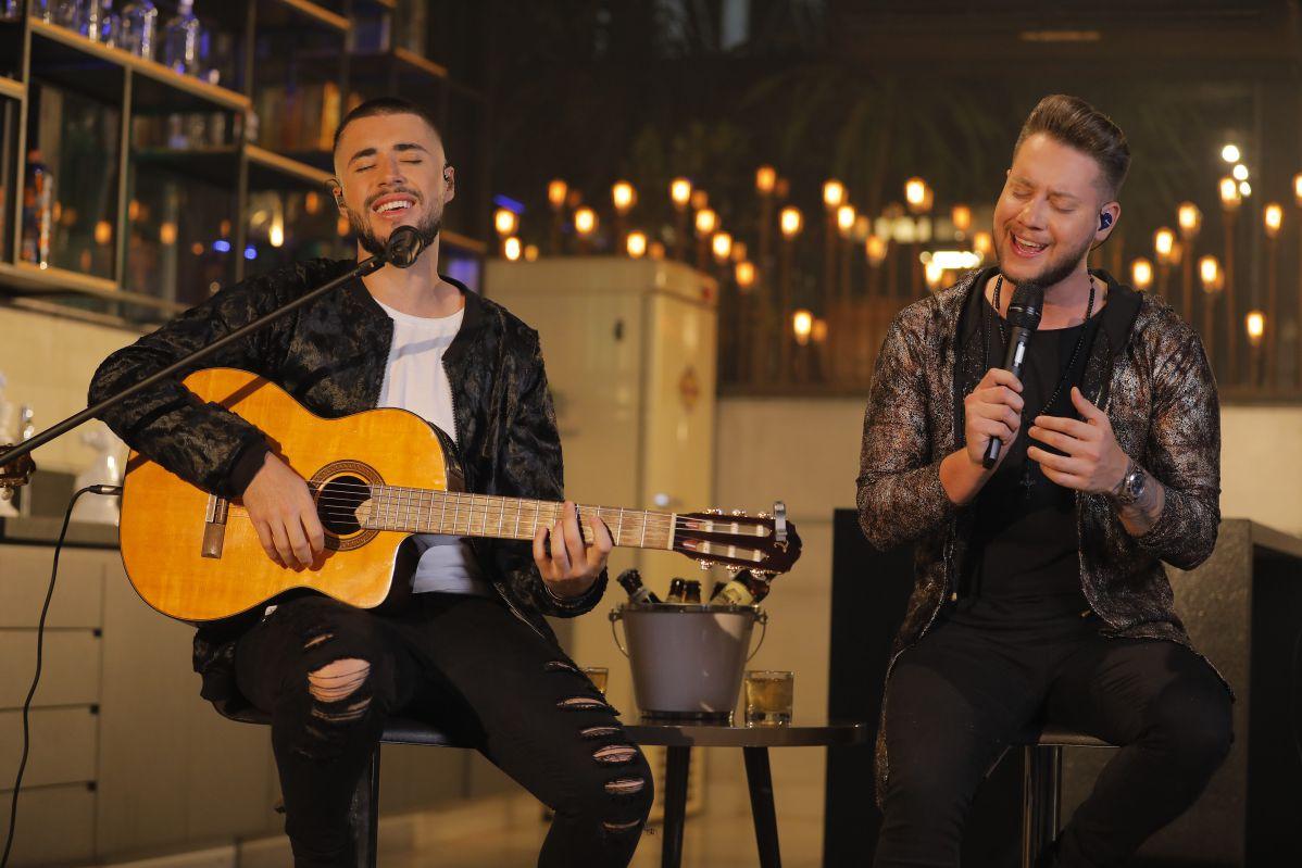 Bruno & Denner participam de live comandada por Gusttavo Lima, ''O Embaixador no Agronegócio''