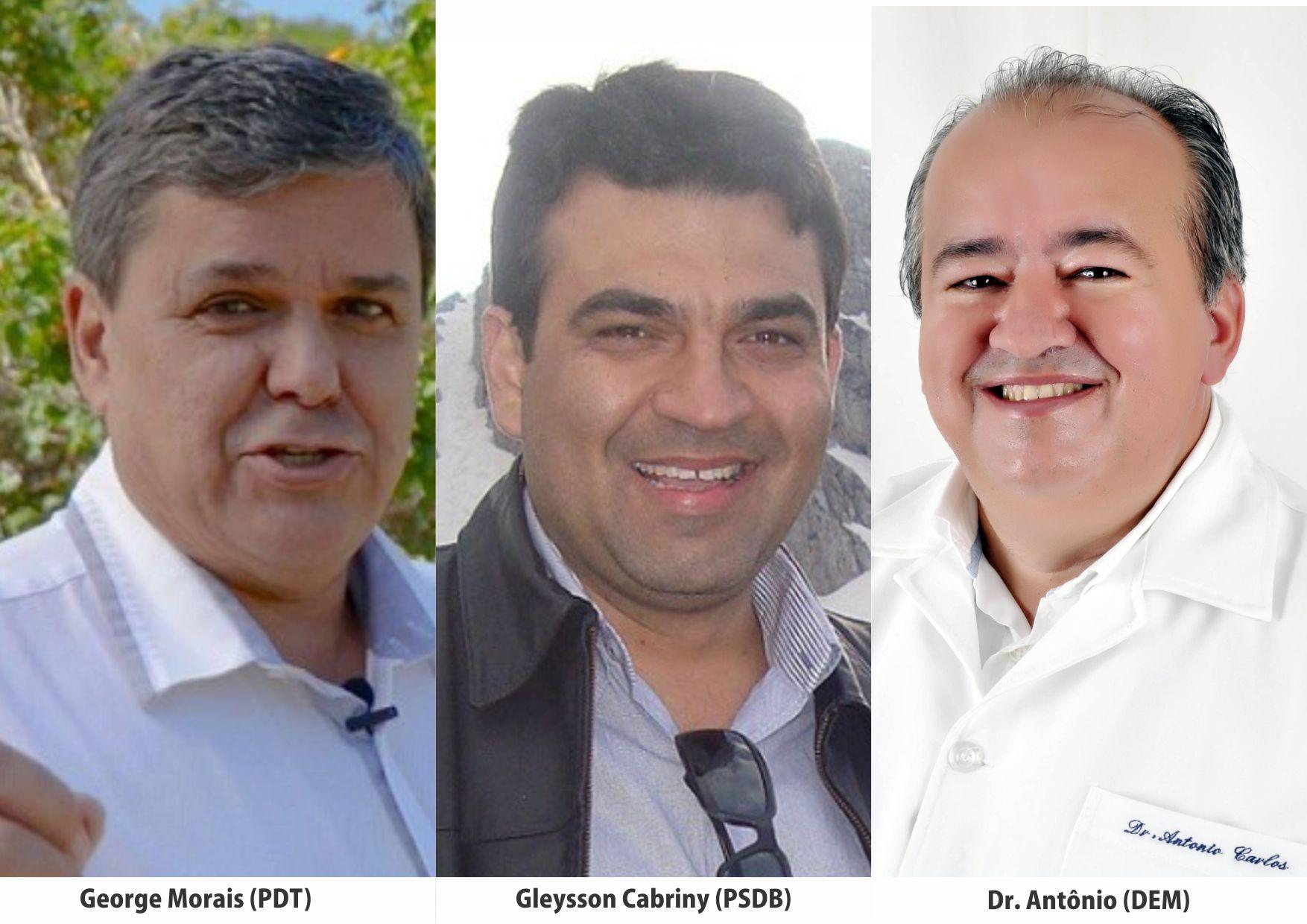DEM e PDT querem desbancar o PSDB de Jânio Darrot em Trindade