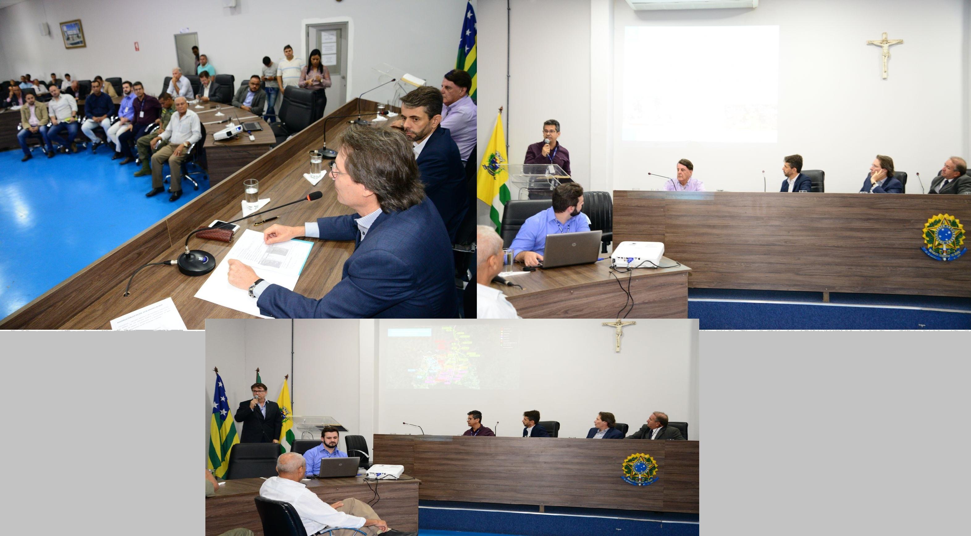 Vereadores sabatinam BRK e Saneago sobre problemas de abastecimento em Aparecida de Goiânia
