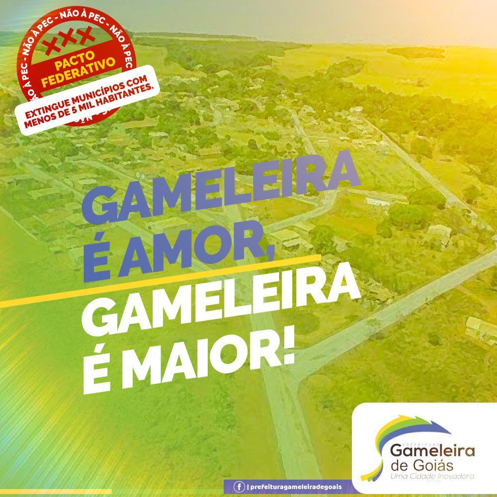 Gameleira inicia campanha de mobiliza��o contra a PEC do Pacto Federativo