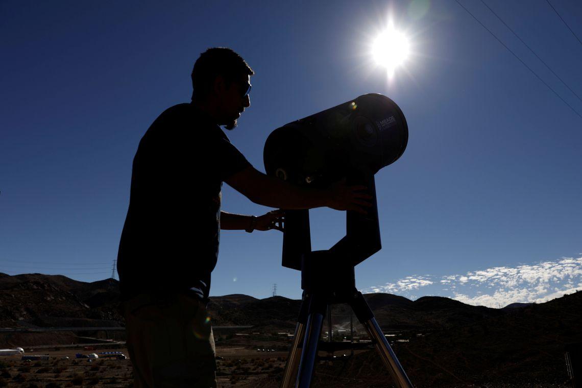Eclipse solar poder� ser observado hoje na Am�rica do Sul