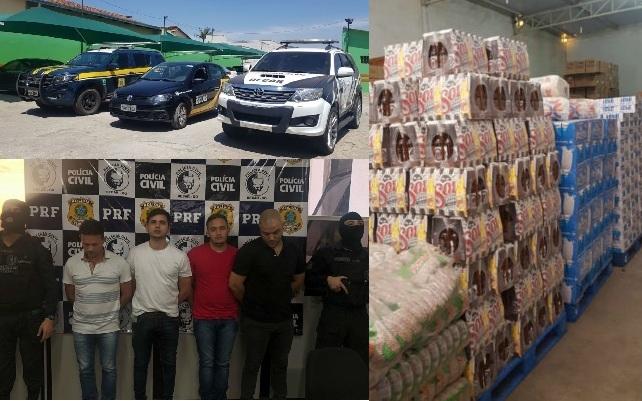 A Grande Fam�lia do Crime: 4 pessoas s�o presas por vender produtos roubados em supermercado de Goi�nia