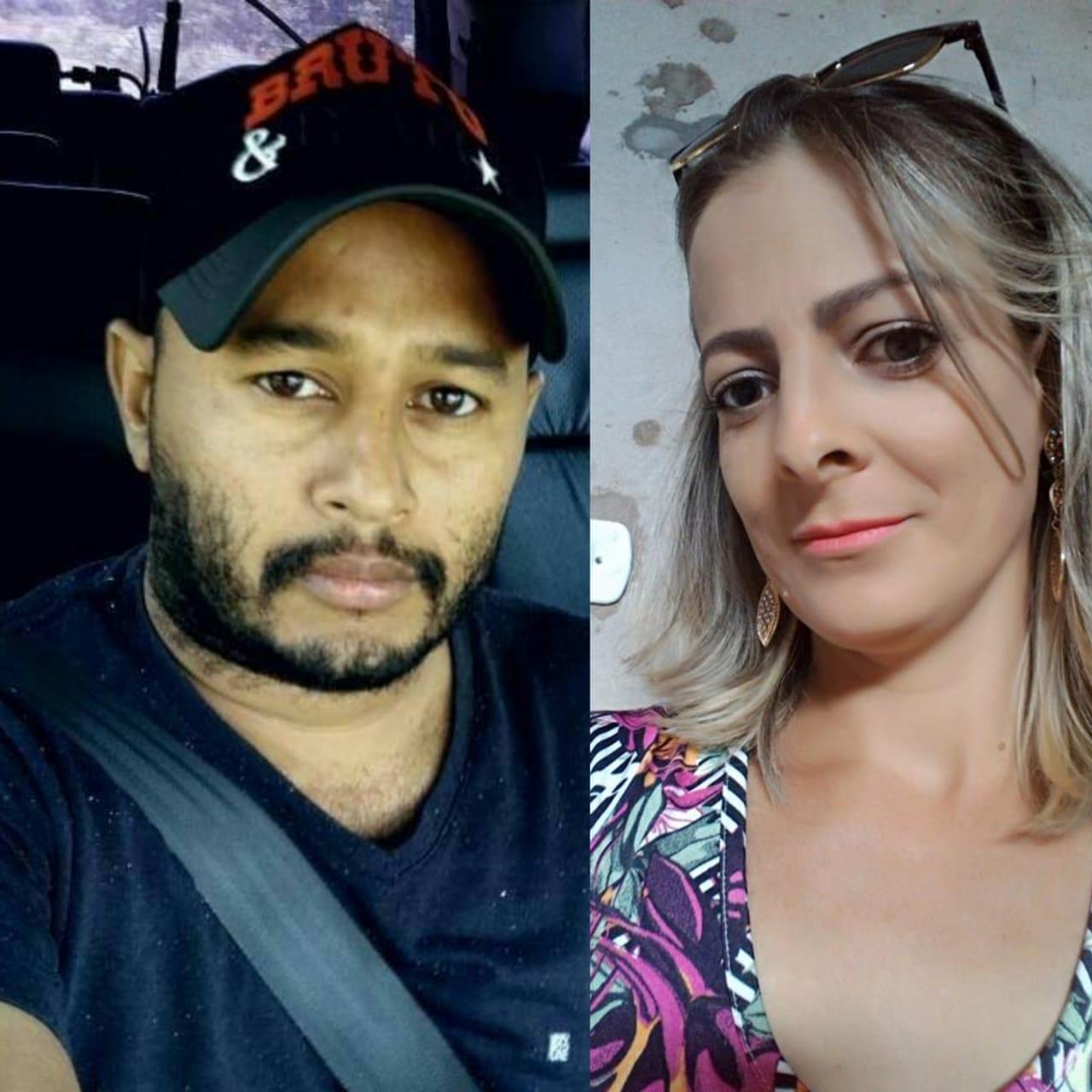 Homem mata a mulher a facadas, foge com a filha e joga o carro contra caminhão em rodovia