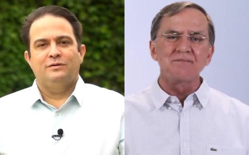 Com 13,32% dos votos apurados, Roberto Naves tem 63,96% dos votos; Gomide, 36,04%