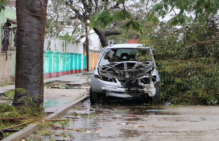 Ciclone Idai atinge Mo�ambique: 90% da cidade da Beira s�o destru�dos