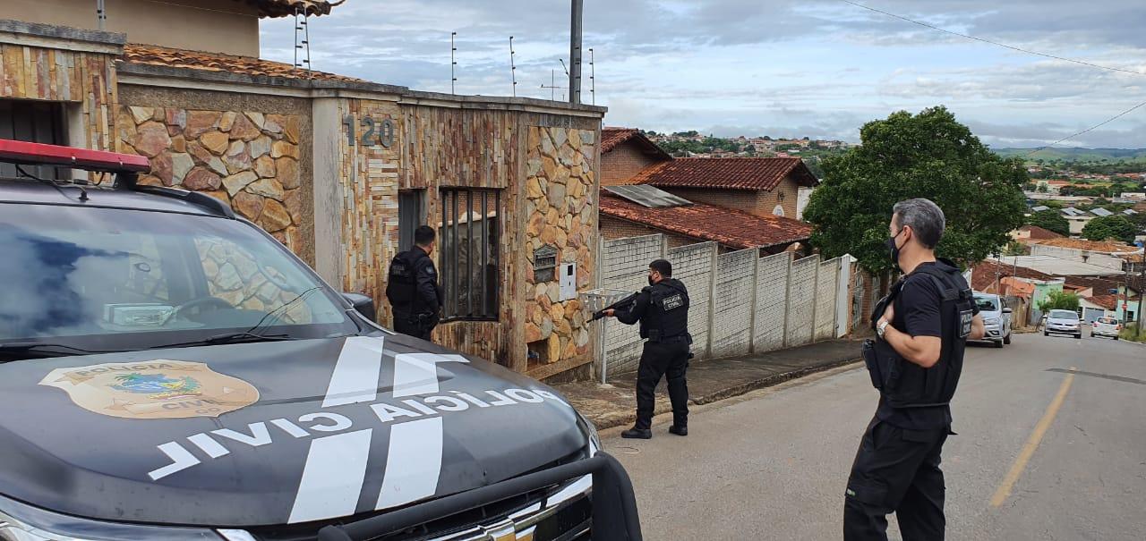 Pol�cia Civil desarticula quadrilha que sonegou R$ 9 milh�es de impostos